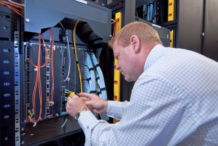 Монтаж структурированной кабельной сети (СКС)